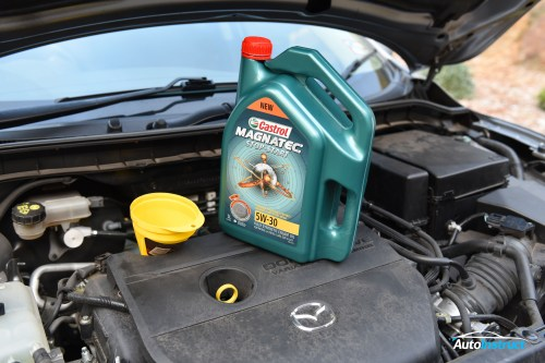 small resolution of mazda 3 bl engine oil change