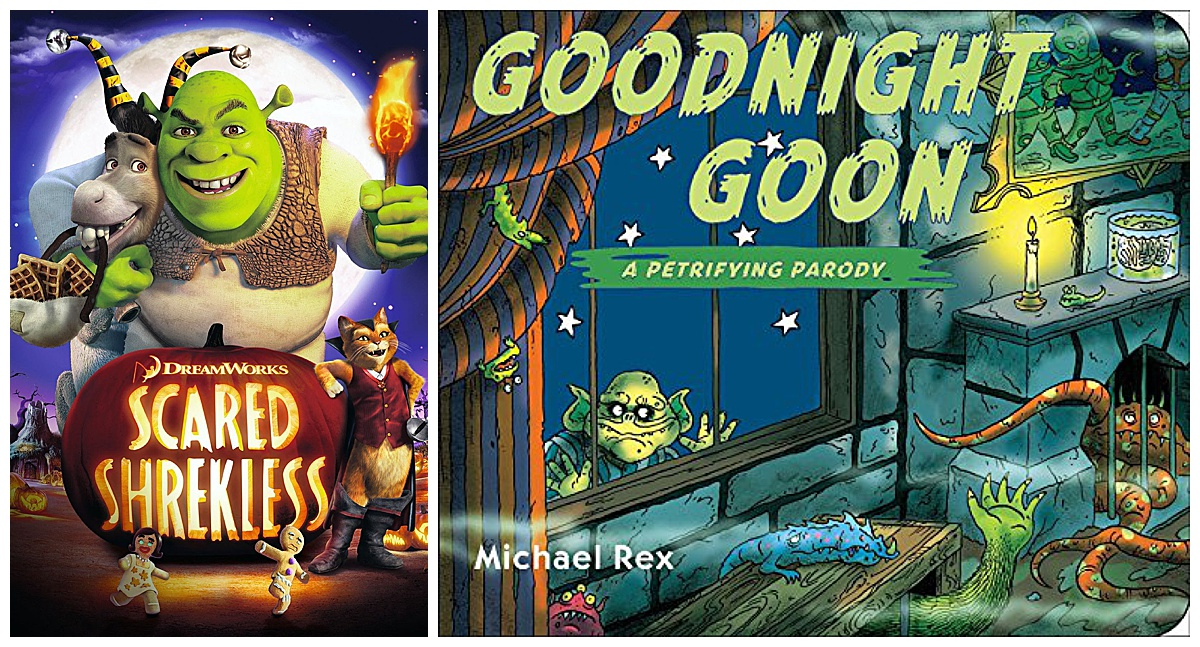 Scared Shrekless Movie and Goodnight Goon book