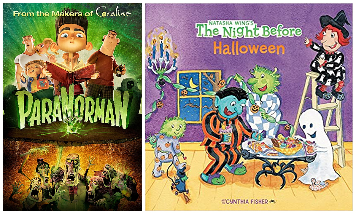ParaNorman Movie and The Night Before Halloween book