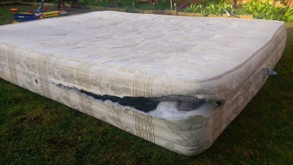 How We Performed DIY Mattress Recycling In 30 Minutes