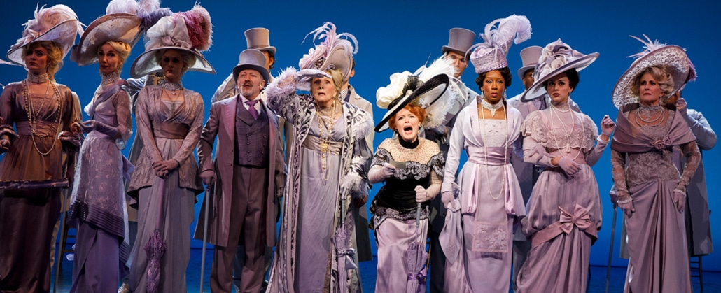 ORIGINAL BROADWAY CAST Lauren Ambrose, Diana Rigg and Allan Corduner and company in Lincoln Center Theater's MY FAIR LADY. Photo By: Joan Marcus