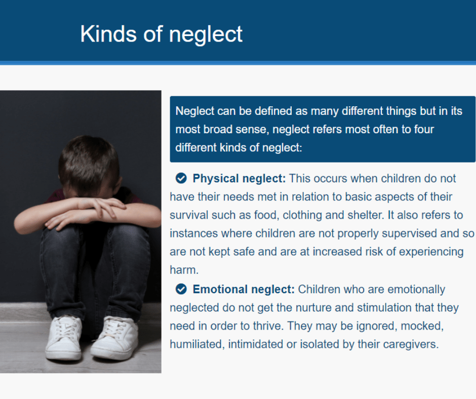 Child Neglect Awareness | Enrol and start today! | CPD Online Training