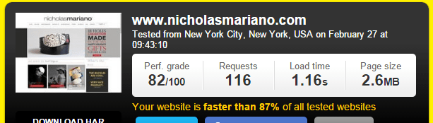 Wix Sample Website Review & Speed Test From New York