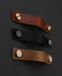 THOR Leather Kitchen Door Handle - Available in Three Colours