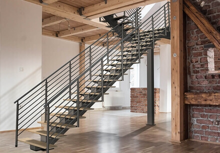 Erectastep Prefabricated Metal Stairs Steps Work Platforms   External Steel Staircase Prices   Handrail   Porch   Deck   Stair Treads   Wrought Iron Railings