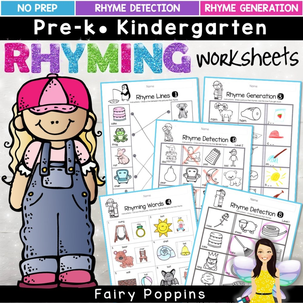 medium resolution of Rhyming Activities   Fairy Poppins