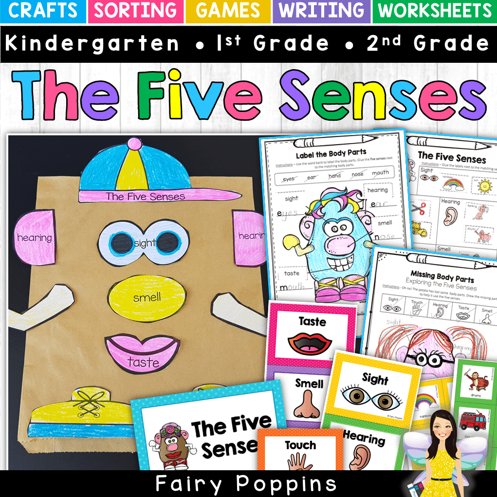 hight resolution of Five Senses Activities For Kids   Fairy Poppins