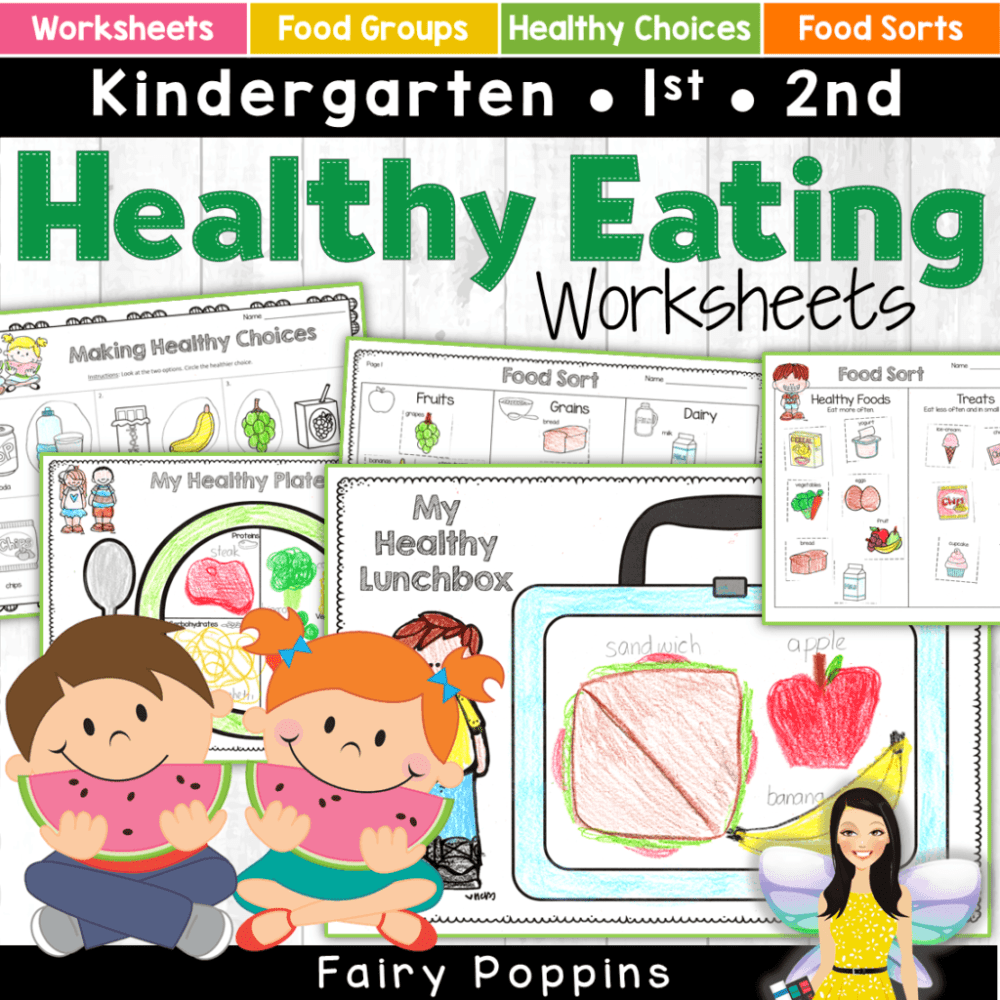 medium resolution of Healthy Eating Activities For Kids   Fairy Poppins