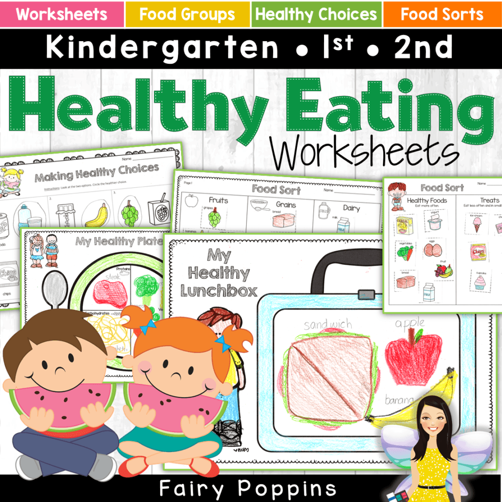 hight resolution of Healthy Eating Activities For Kids   Fairy Poppins