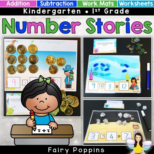 small resolution of Addition \u0026 Subtraction Word Problems   Fairy Poppins