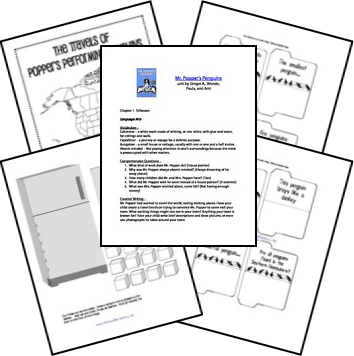 Free Mr. Popper's Penguins Unit and Lapbook Printables