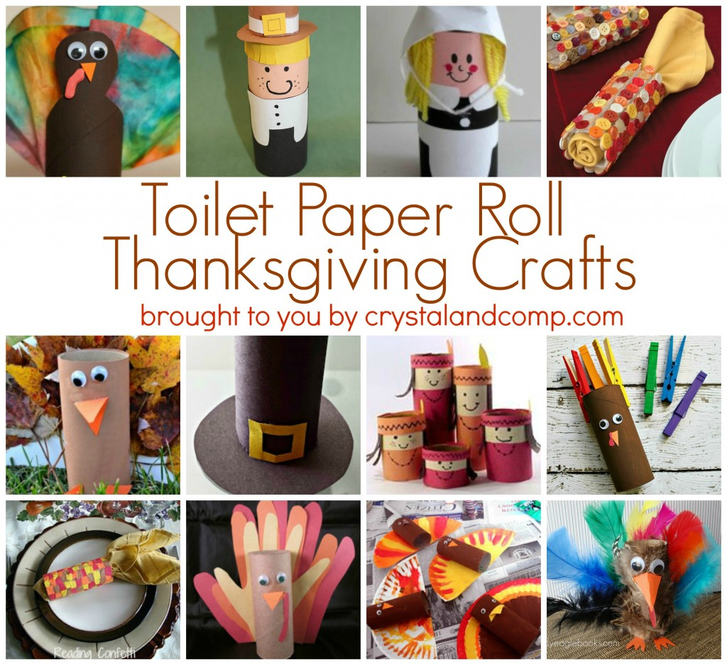 Free Toilet Paper Roll Thanksgiving Craft