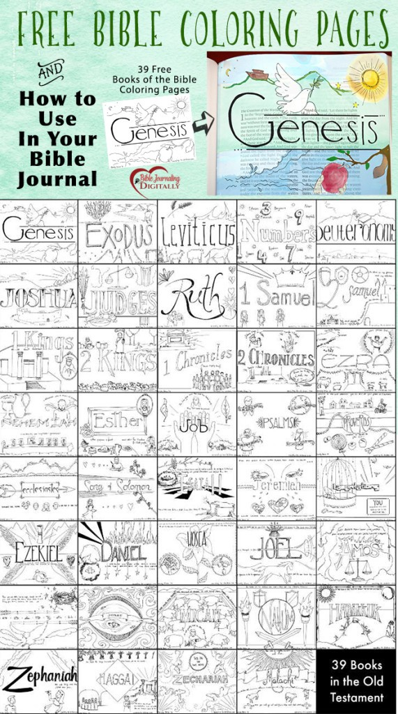 Books Of The Bible Coloring Pages : books, bible, coloring, pages, Books, Bible, Coloring, Pages