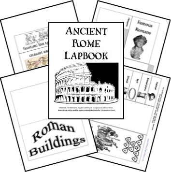 FREE Ancient Rome Lapbook