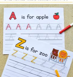 FREE Printable Letter Tracing Packet   Free Homeschool Deals © [ 1500 x 1000 Pixel ]
