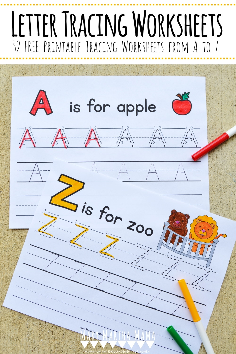 medium resolution of FREE Printable Letter Tracing Packet   Free Homeschool Deals ©