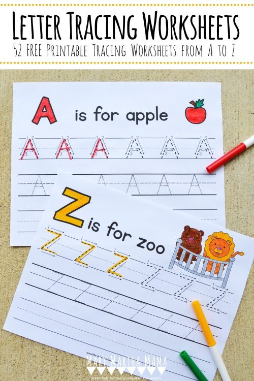 small resolution of FREE Printable Letter Tracing Packet   Free Homeschool Deals ©