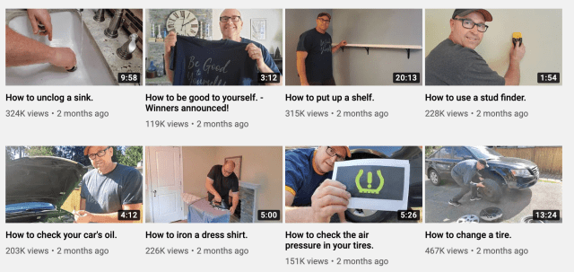 Dad How Do I YouTube pays attention to audience needs