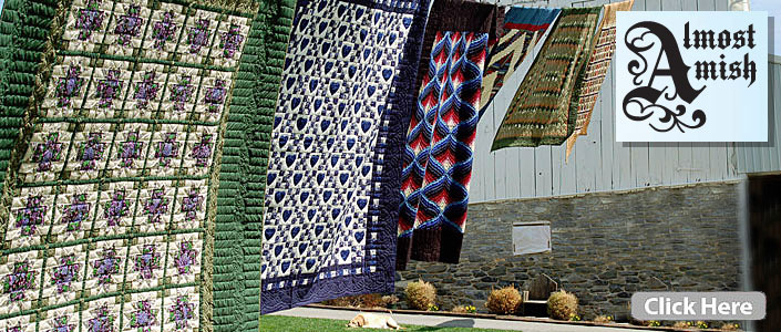 Handmade Amish Quilts Lancaster Pa