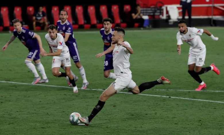 Sevilla held 1-1 by Valladolid - La Prensa Latina Media