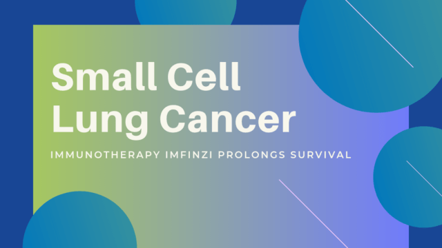 Small Cell Lung Cancer: Immunotherapy Imfinzi Prolongs Survival