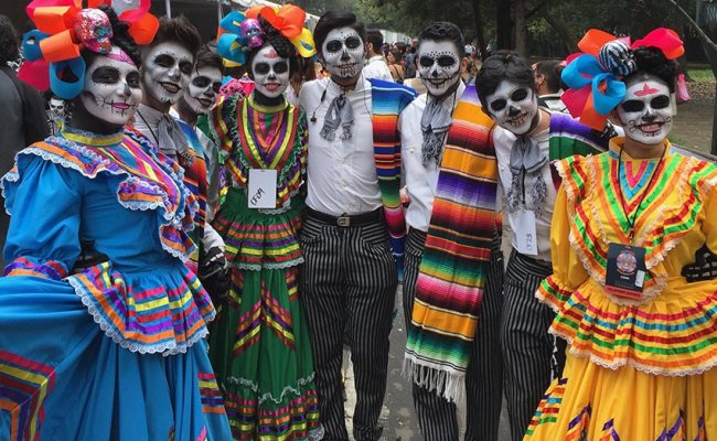 Behind The Scenes At Mexico City S Day Of The Dead Parade Dubai Khalifa