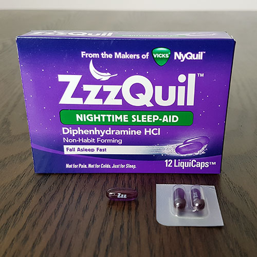 ZzzQuil Nighttime Sleep Aid Review