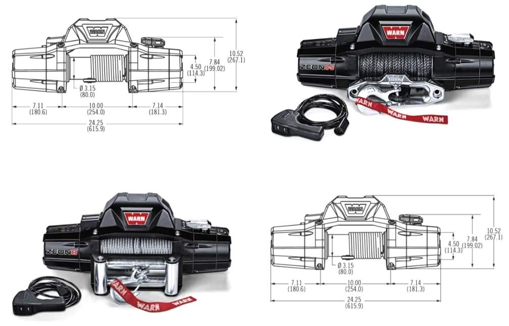 Warn Zeon Series: Platinum, Premium and Multi-Mount