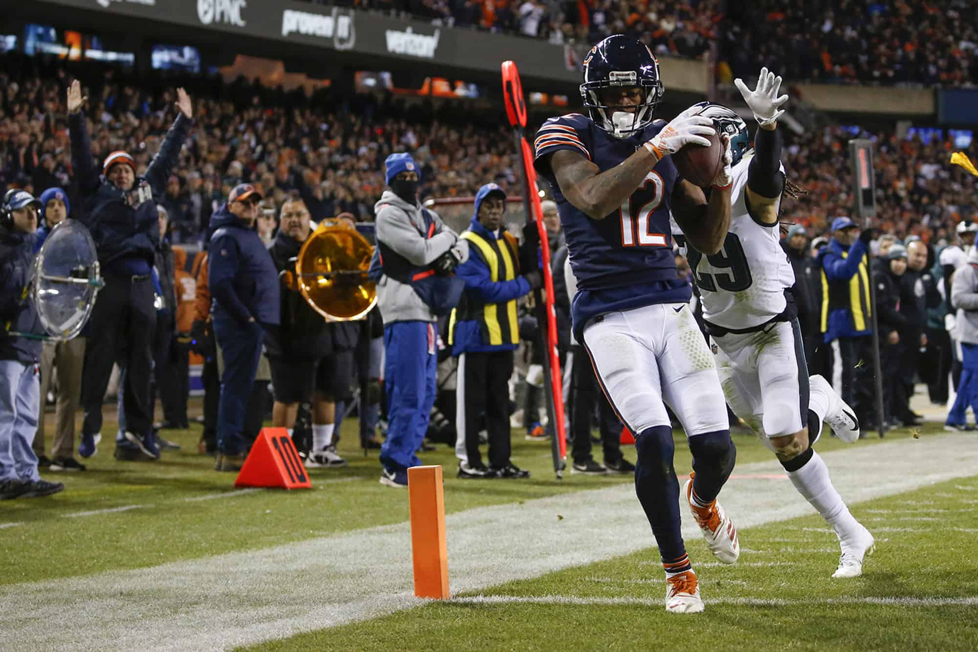 Bears Vs Eagles Fantasy Football Worksheet Week 9