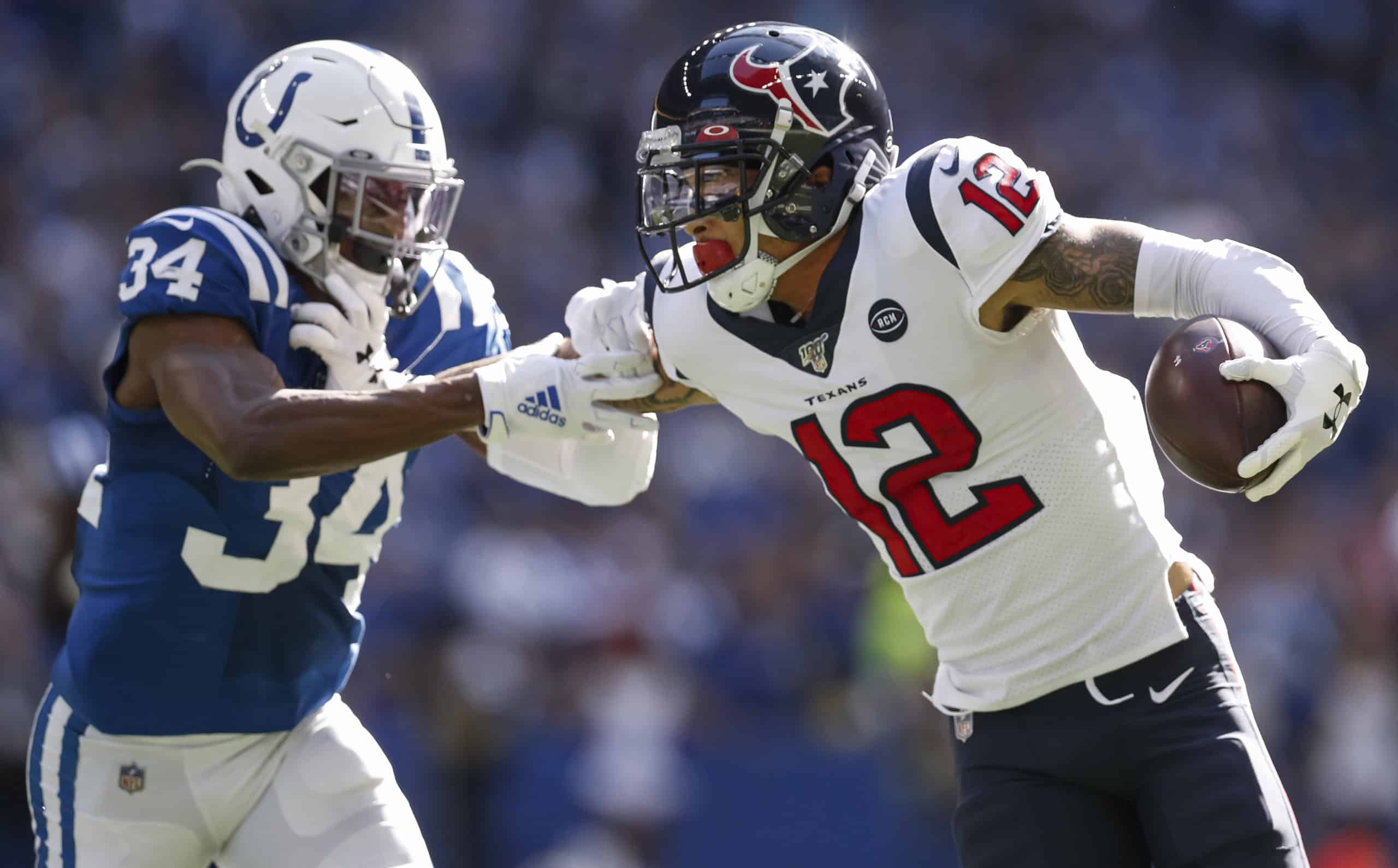 Colts Vs Texans Fantasy Football Worksheet Week 12
