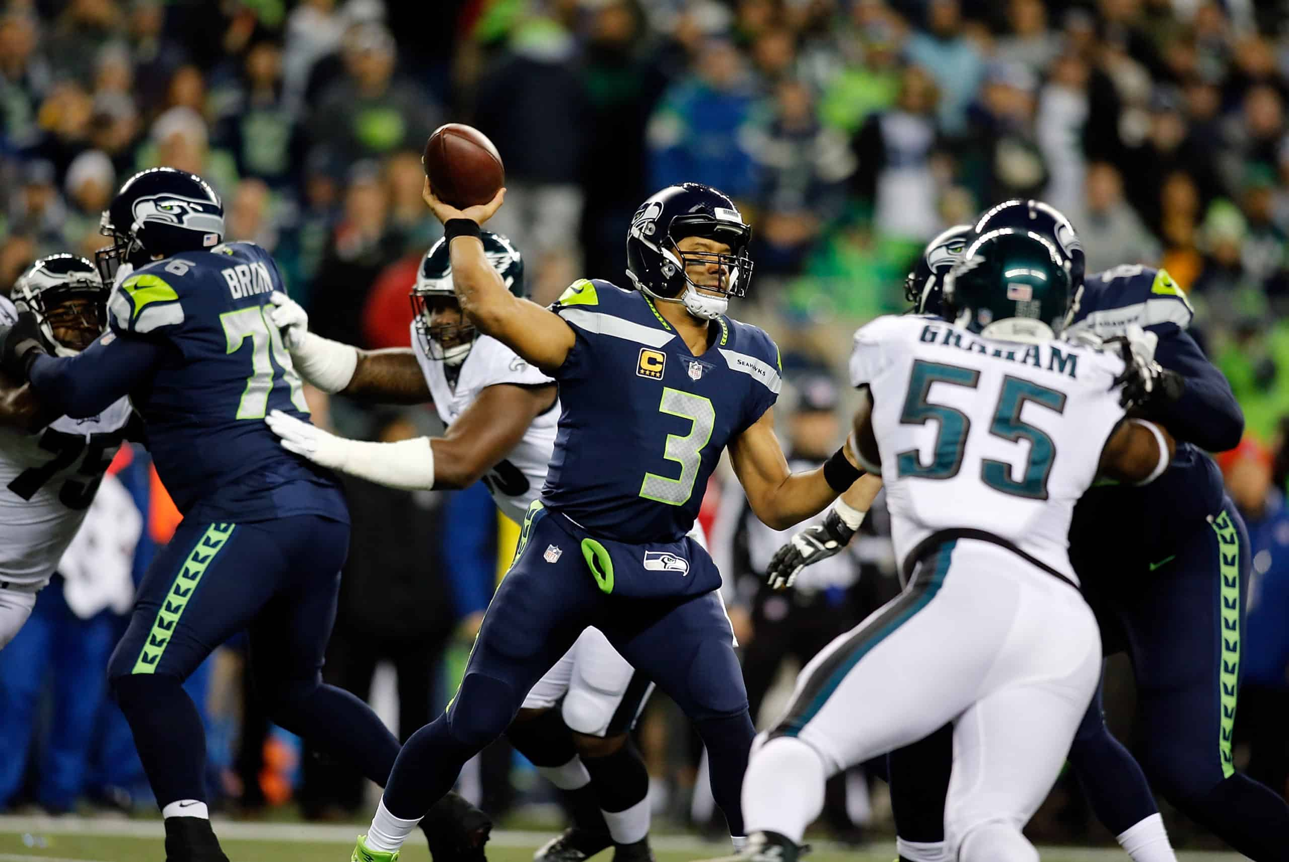 Seahawks Vs Eagles Fantasy Football Worksheet Week 12