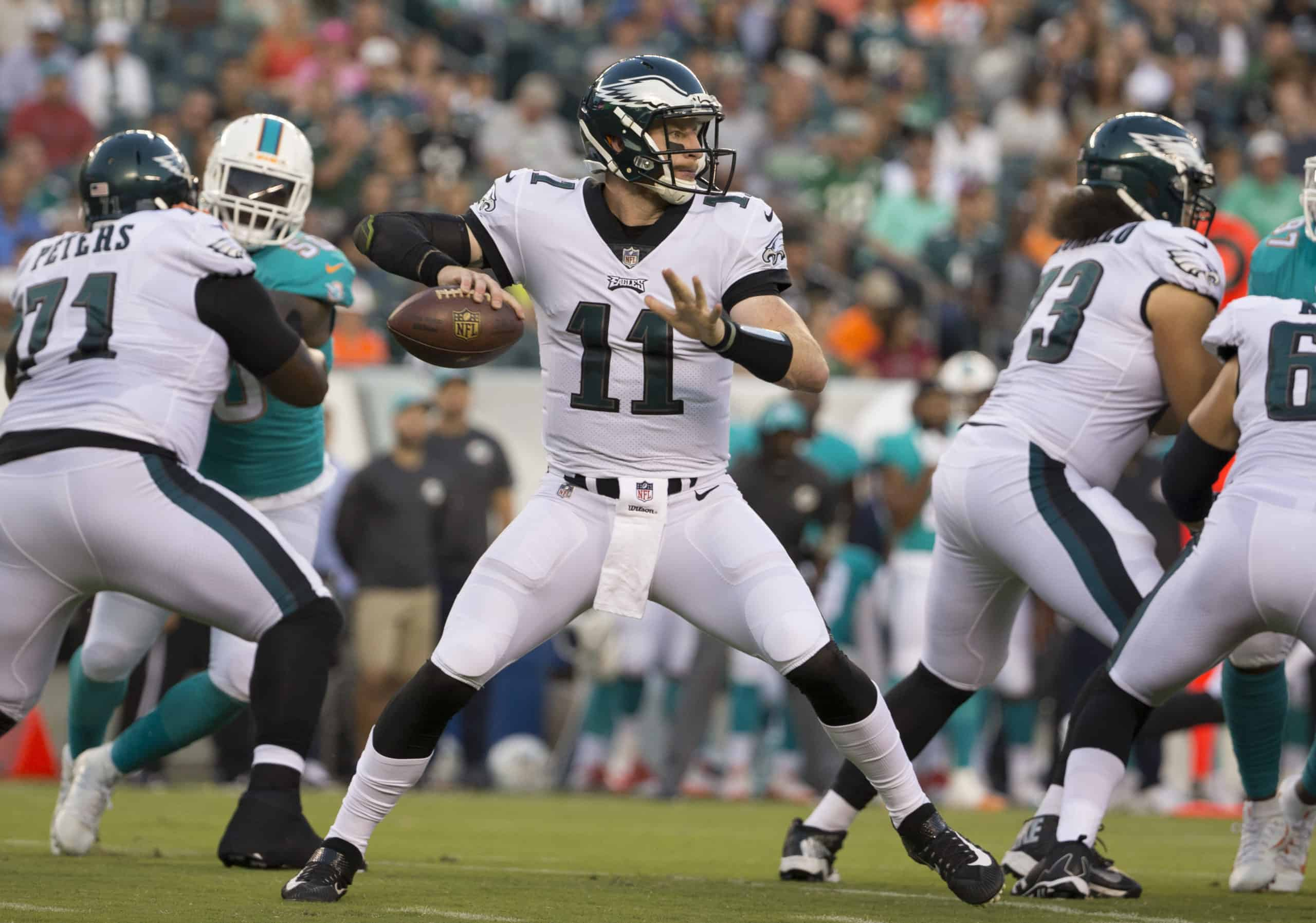 Eagles Vs Dolphins Fantasy Football Worksheet Week 13
