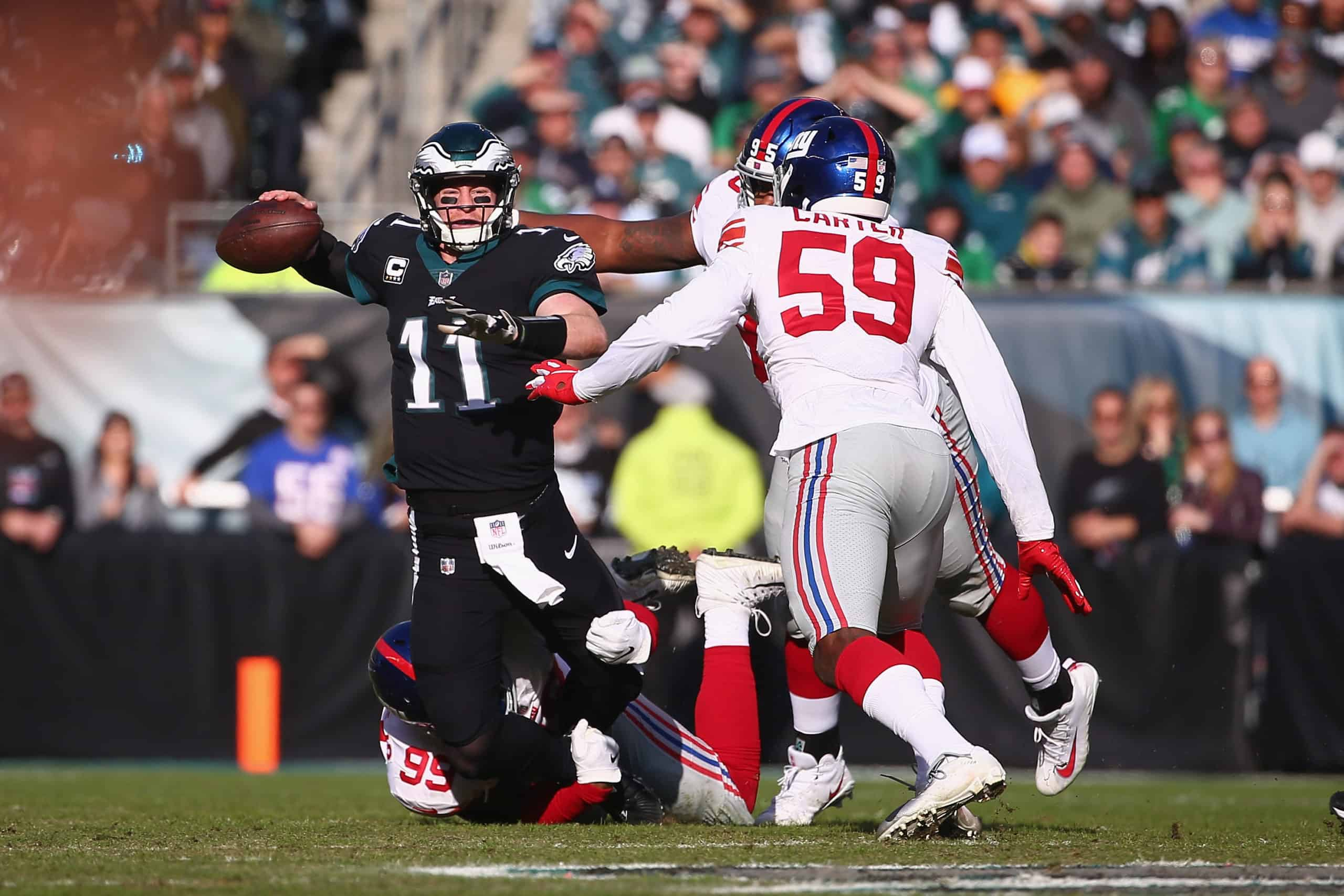 Giants Vs Eagles Fantasy Football Worksheet Week 14