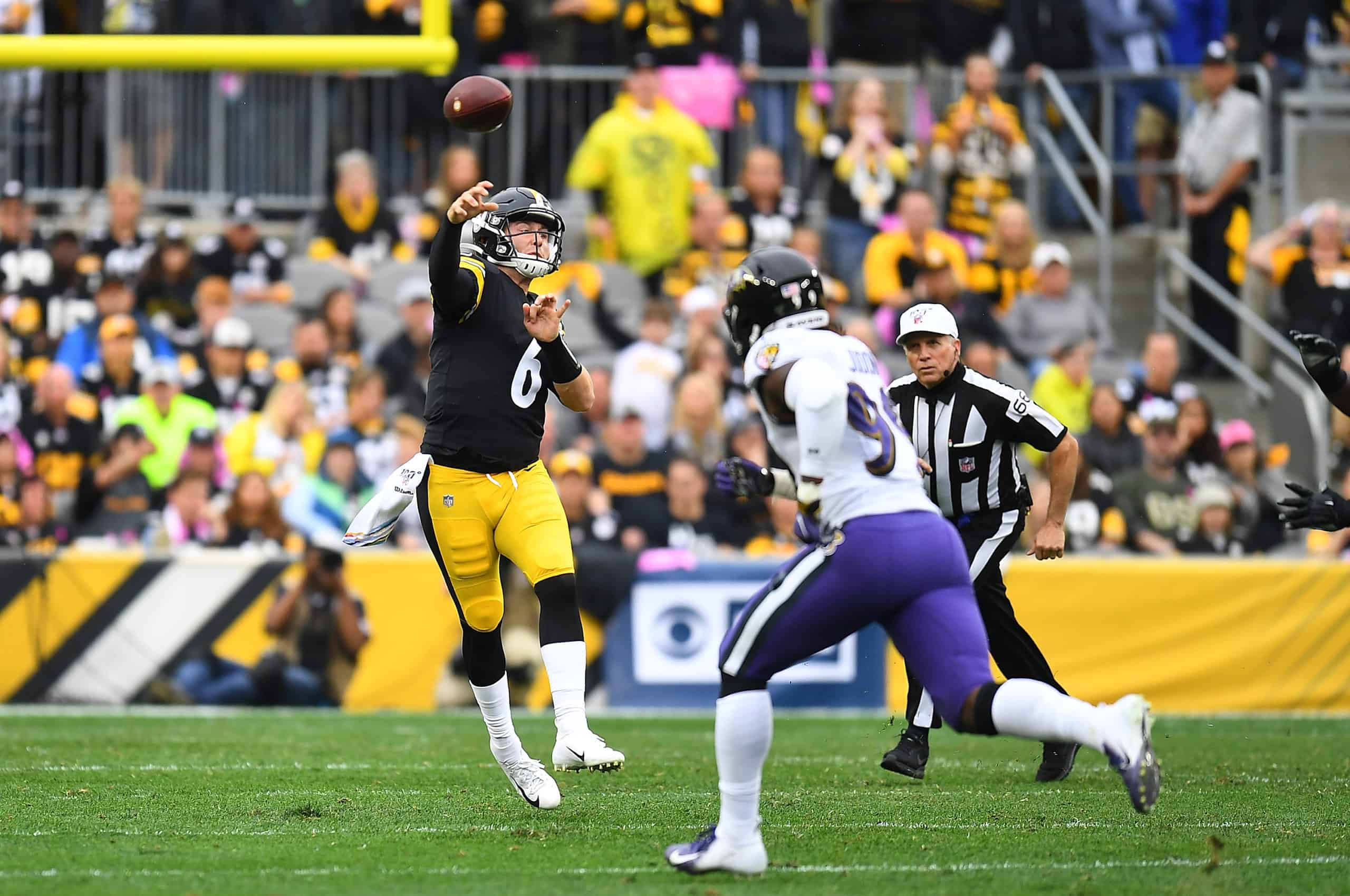 Steelers Vs Ravens Fantasy Football Worksheet Week 17