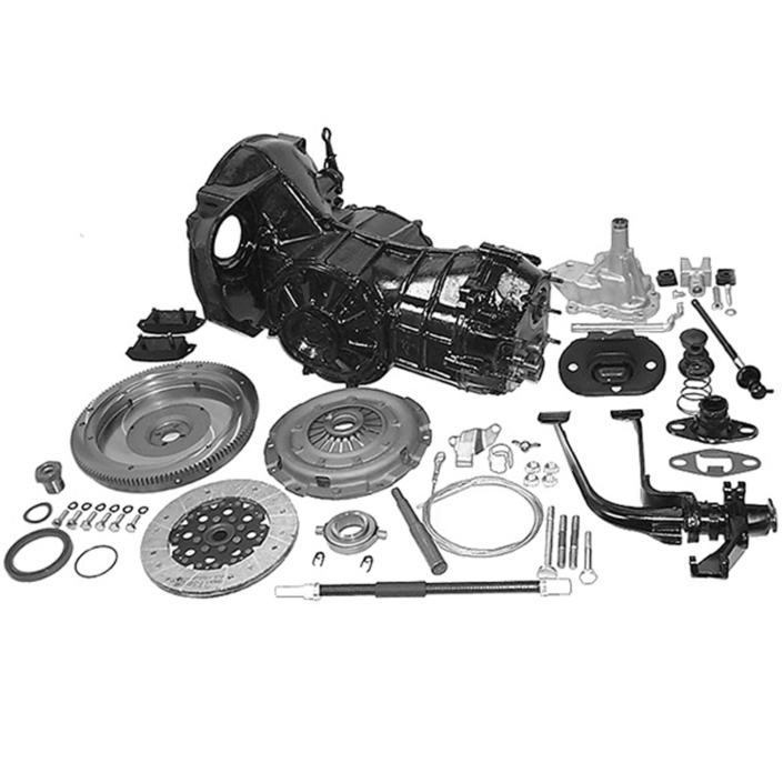 Autostick to 4-Speed Manual Conversion Kit with 4:12 Ring