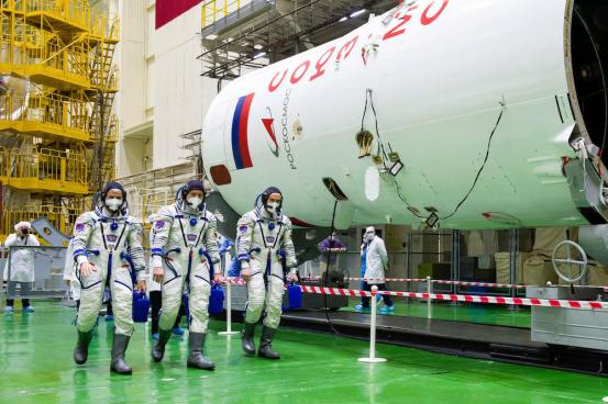 NASA astronaut, two astronauts ready to launch a space station – Spaceflight Now