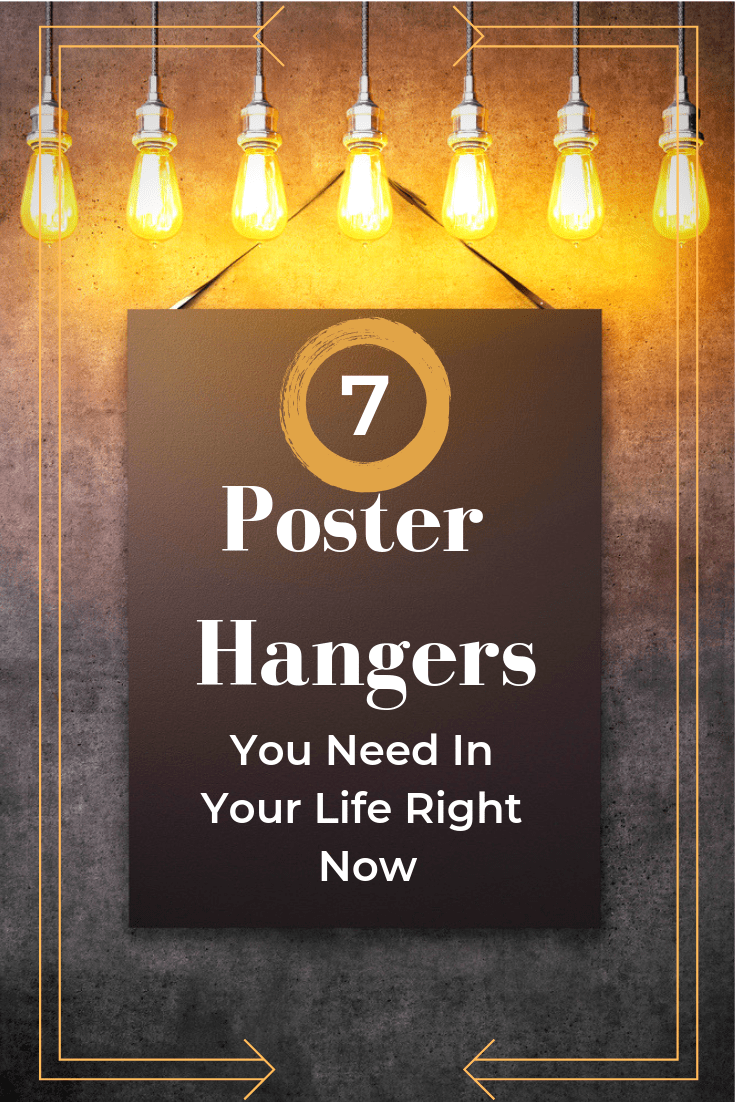 7 best poster hangers anyone can put up
