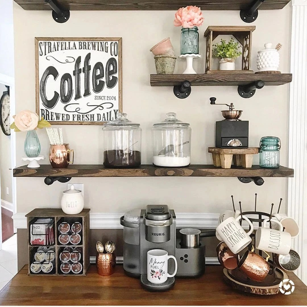 you ll love these coffee bar ideas for