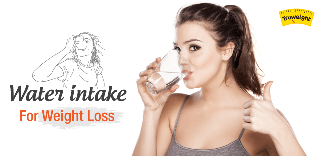 Water intake for weight loss