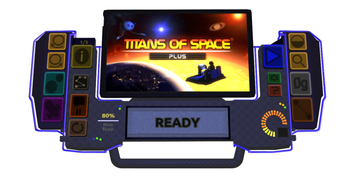 Titans of Space Plus Dashboard