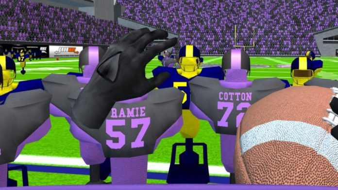 2md vr football quest screenshot gameplay 5