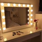 Chende White Hollywood Lighted Makeup Vanity Mirror Review Uvhero