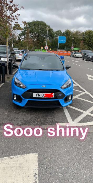 Ford Focus St Blue : focus, Hello, Sussex, Focus, Brand, Edition