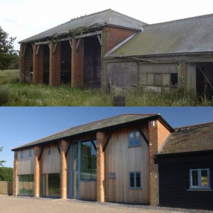 Dilapidated Barn, before and after, MKA Architects listed building specialists