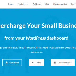 best wordpress erp