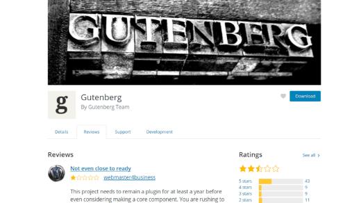 WordPress Guttenberg