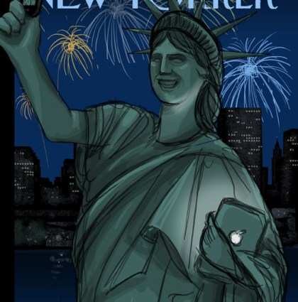 The New Yorker cover sketches
