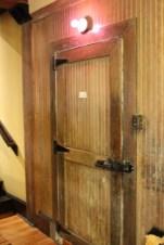 A cool door at the tea room of Panama Hotel