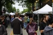 Crowded University Street fair