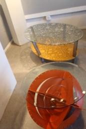 Side tables by Karlito Bonnevie